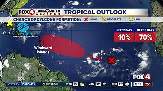 Tropical development likely in the Atlantic by next week