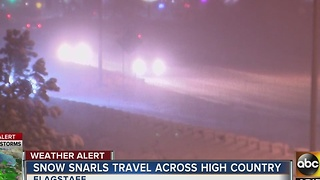 DPS urging people to avoid roads in high country