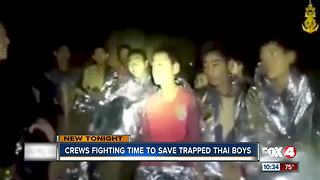 Crews are working overtime to rescue trapped Thailand boys - Video