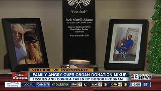 Family angry over organ donation mixup - Video