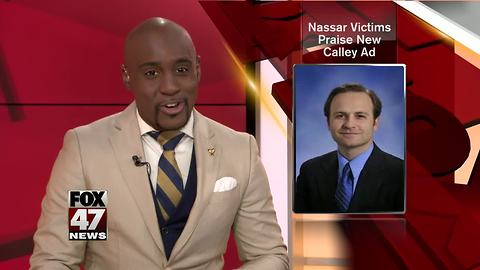 2 Nassar victims praise Calley in new gubernatorial race ad