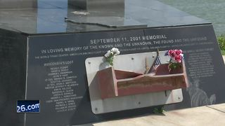Green Bay 9/11 memorial decommissioned for repairs - Video