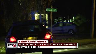 Early morning gun shots ring out in Fort Myers, one person injured - Video