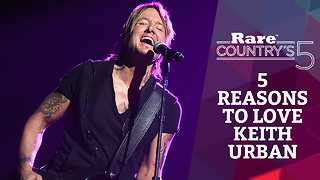 Five Reasons to Love Keith Urban | Rare Country's 5 - Video