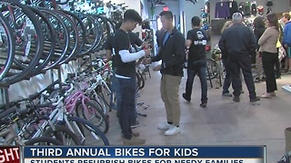 Third Annual 'Bikes For Kids' - Video