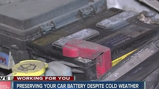 Preserving your car battery in the cold - Video