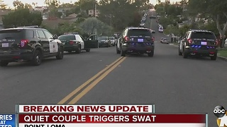 Couple in SWAT situation described as 'quiet' - Video