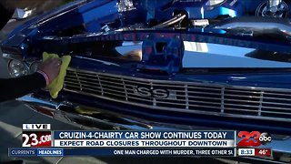 Crusin' 4 Charity car show hits the streets of Bakersfield