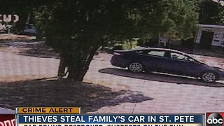 Ohio family stranded in Flordia after thieves take off with car - Video