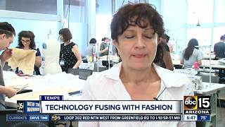 Arizona State University testing the limits for fashion industry - Video