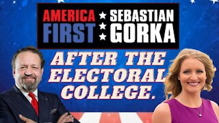 After the Electoral College. Jenna Ellis with Sebastian Gorka on AMERICA First