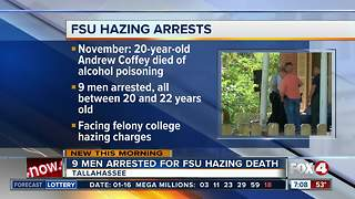 9 FSU students facing hazing charges - Video