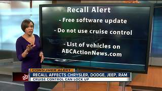 Fiat Chrysler recalls 4.8 million vehicles - Video