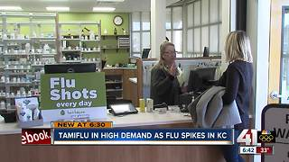 Liquid flu medicine in high demand in KC - Video
