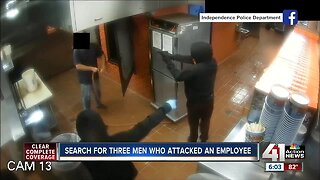IPD continue searching for suspects in Gates Bar-B-Q robbery