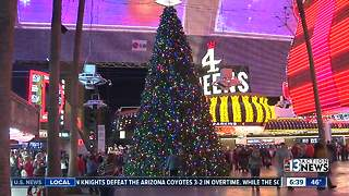 Fremont Street Experience plans to light Christmas tree - Video