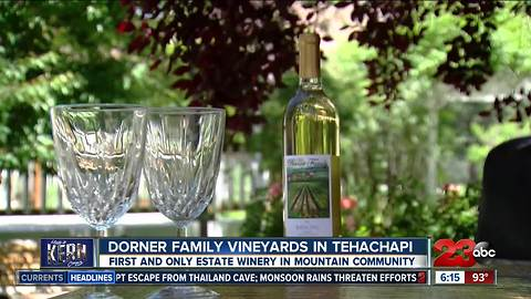 Made in Kern County: Dorner Family Vineyards