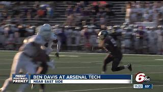 HIGHLIGHTS: Ben Davis v Arsenal Tech - Video