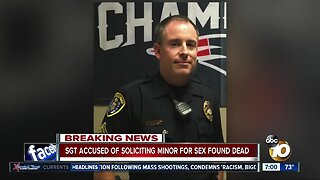 SDPD Sergeant found dead after failed court appearance