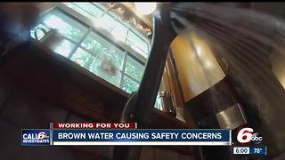 Brown Water Concerning Homeowners in Howard County - Video