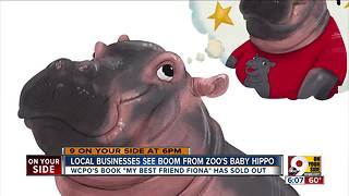 Fiona the Hippo book sells out in mere hours - Video