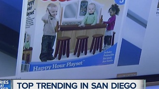 Social media outrage over 'Fisher-Price Happy Hour Playset' - Video