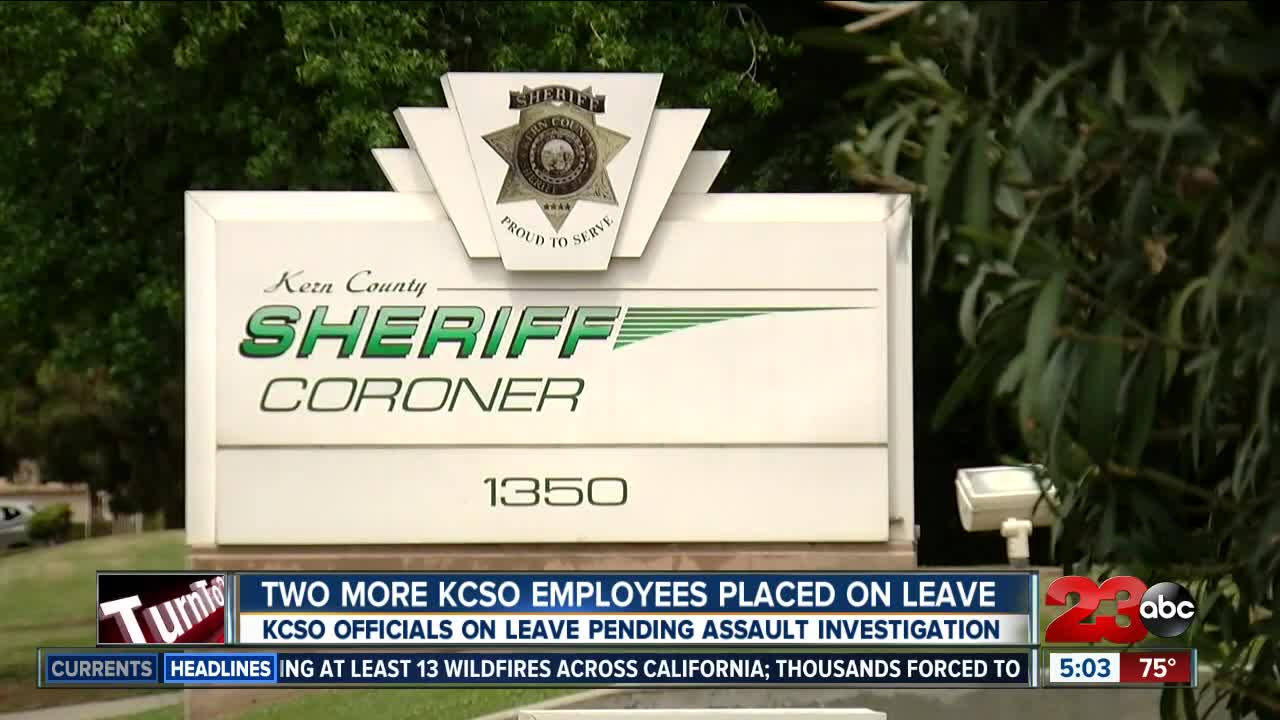Two more KCSO officials placed on leave