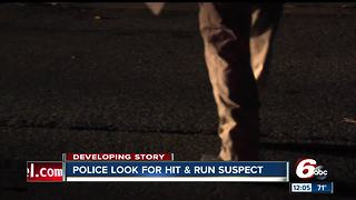 Indianapolis police searching for hit-and-run suspect - Video
