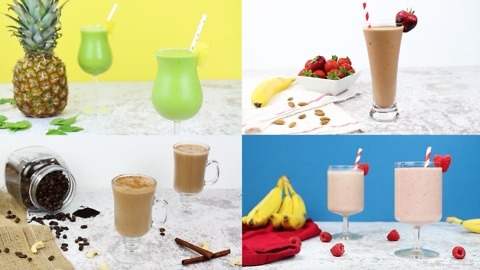 4 Easy and Delicious Protein Shakes