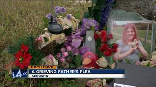 Kenosha father speaks out about teen daughter murdered on Pennoyer Park beach