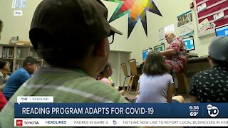 Reading program adapts to COVID-19 restrictions