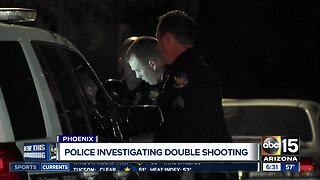 Police investigating double shooting in Phoenix
