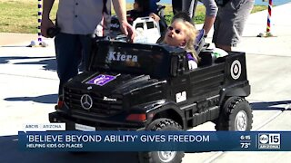 'Believe Beyond Ability' gives freedom