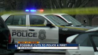 Fire and police jobs in jeopardy in MKE budget - Video