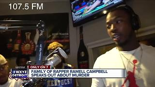Family of Detroit rapper killed on I-94 speaks out about his murder - Video