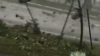 Woman Trapped Inside Car During Tornado