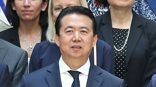 China Says It's Investigating Ex-Interpol Chief For Corruption
