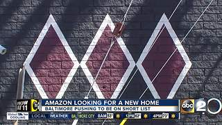 Baltimore woos Amazon to be home sweet home - Video