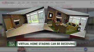 When virtual home staging becomes deceptive - Video