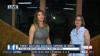 Southwest Florida's first nature based preschool opens - Video