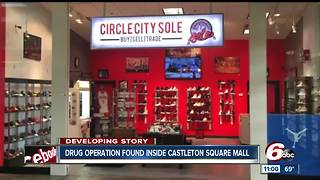Drug operation found inside Castleton Square Mall - Video