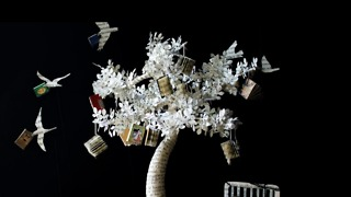 Amazing Art Made From Recycled Books! - Video