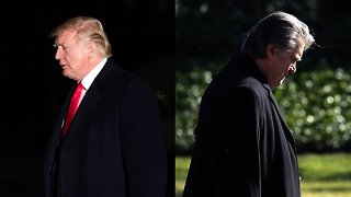 Bannon-Trump Fight Could Splinter GOP's Populist Base In 2018 - Video