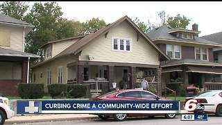 Neighbors in Crown Hill believe community involvement could help reduce Indianapolis crime - Video