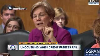 Exclusive Investigation: Uncovering when credit freezes fail - Video