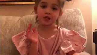 Extremely Cute Toddler Has Strong Views on One-Upper 'Friend' - Video