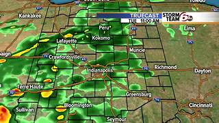 Tuesday morning rain timing. - Video