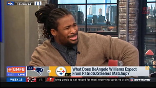 DeAngelo Williams Calls NFL Network Panel Biased To Their Face - Video