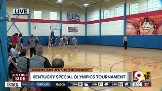 Special Olympics athletes battle for Kentucky state tournament berths - Video