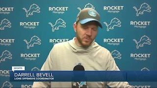Darrell Bevell thinks he knows why Matthew Stafford has been off: his feet